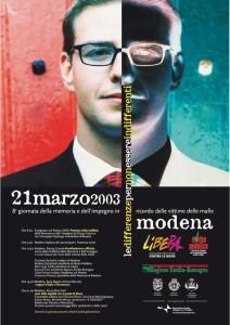 Modena - 21 marzo 2003