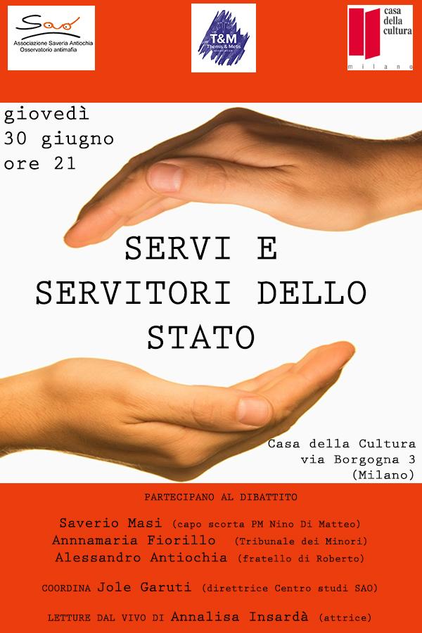 Servi-Servitori dello Stato